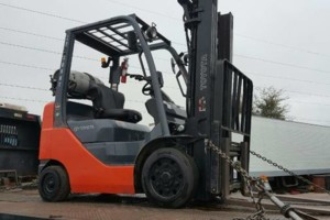 Photo #1: Jason Forklift Service. Equipment Hauling/Transportation
