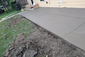 Photo #4: Free Estimates - Concrete Services!