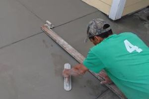 Photo #2: Free Estimates - Concrete Services!