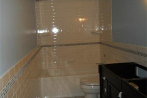 Photo #2: Tile installation by professional (Custom Bathroom)
