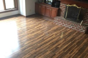 Photo #2: Custom Flooring and More - laminate, vinyl, tile...