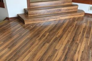 Photo #1: Custom Flooring and More - laminate, vinyl, tile...