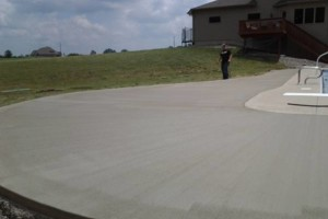 Photo #23: RENKENBERGER CONSTRUCTION. Drywall work & Driveway Grading