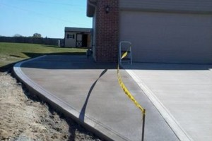 Photo #22: RENKENBERGER CONSTRUCTION. Drywall work & Driveway Grading