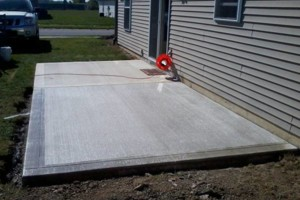 Photo #14: RENKENBERGER CONSTRUCTION. Drywall work & Driveway Grading