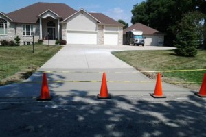 Photo #10: RENKENBERGER CONSTRUCTION. Drywall work & Driveway Grading