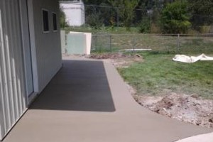 Photo #9: RENKENBERGER CONSTRUCTION. Drywall work & Driveway Grading
