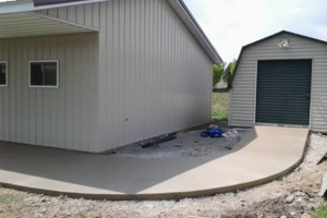 Photo #8: RENKENBERGER CONSTRUCTION. Drywall work & Driveway Grading