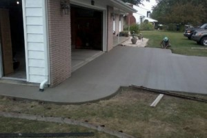Photo #6: RENKENBERGER CONSTRUCTION. Drywall work & Driveway Grading