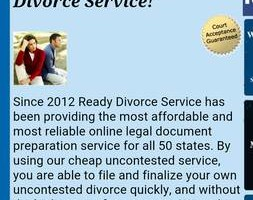 Photo #1: CHEAP FAST DIVORCE $99-$129