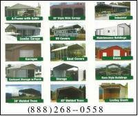 Photo #1: Metal carports garages steel buildings