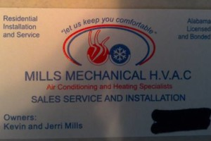 Photo #1: MILLS MECHANICAL. HVAC SYSTEM REPLACEMENT, CHANGE OUTS