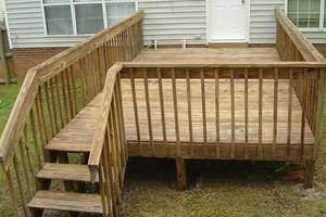 Photo #4: Want a new deck? Need yours fixed?