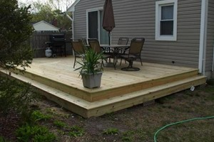 Photo #2: Want a new deck? Need yours fixed?