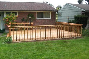 Photo #1: Want a new deck? Need yours fixed?