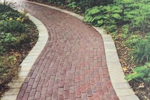 Photo #2: Paving stones. Roadway (pavement) restoration. Lining