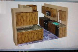 Photo #2: WoodCrafter Cabinetry - kitchen/bath cabinetry and Granite Countertops