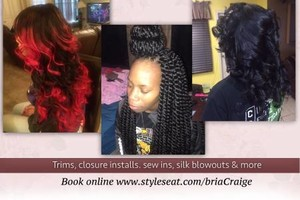 Photo #1: Get Your Hair Styled By Bri... EXPERIENCED STYLIST (Available TODAY!)