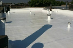 Photo #3: Flattop Roofing/silver coating - emergency repairs