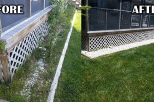 Photo #4: Addor LANDSCAPING / Grass cutting $35- Mulching - Stone beds - Weed and Feed