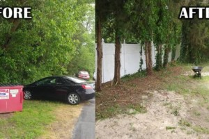 Photo #3: Addor LANDSCAPING / Grass cutting $35- Mulching - Stone beds - Weed and Feed