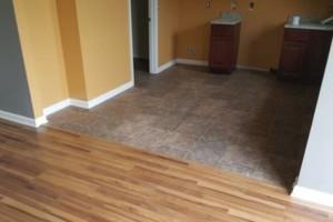 Photo #1: Hardwood, laminate, carpet, vinyl, VCT, cortec,...