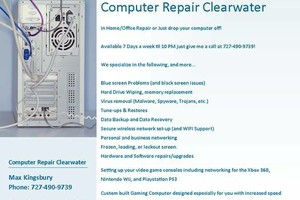 Photo #1: COMPUTER REPAIR! NO INTERNET, VIRUSES, FORGOT PASSWORD- SAMEDAY FIX! !
