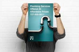 Photo #1: Affordable Plumbing Services. Re- piping & Leaks Fixed...