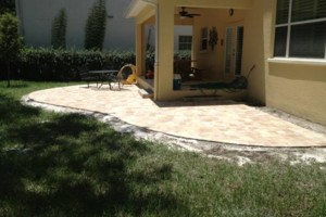 Photo #3: Pavers, Coping, Sealing, Stone, Concrete, Pool Tile