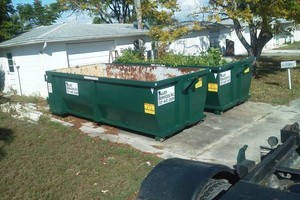 Photo #6: Roll-off Dumpster, Hauling, Junk Removal