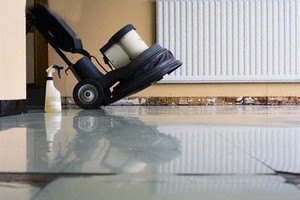 Photo #2: One Way Janitorial. STRIP & WAX FLOORS, OFFICE CLEANING