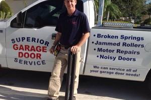 Photo #1: Superior garage door services LLC