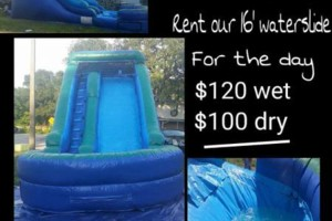 Photo #1: Inflatable slide rental cheap