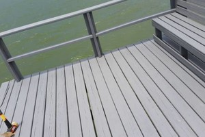 Photo #9: Professional deck/dock staining