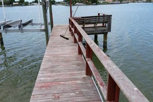 Photo #8: Professional deck/dock staining