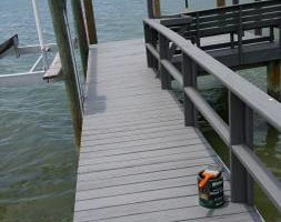 Photo #7: Professional deck/dock staining