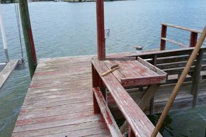 Photo #6: Professional deck/dock staining