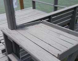 Photo #5: Professional deck/dock staining