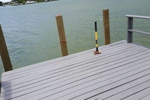 Photo #1: Professional deck/dock staining