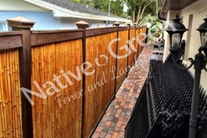 Photo #15: Native Green Fence & Landscape, LLC. - VINYL - BAMBOO - WOOD