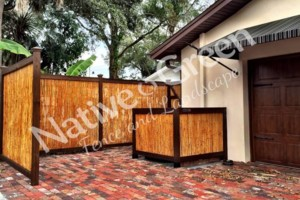 Photo #14: Native Green Fence & Landscape, LLC. - VINYL - BAMBOO - WOOD