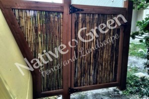 Photo #13: Native Green Fence & Landscape, LLC. - VINYL - BAMBOO - WOOD