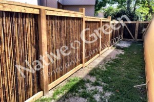 Photo #9: Native Green Fence & Landscape, LLC. - VINYL - BAMBOO - WOOD
