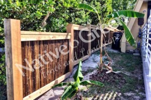Photo #8: Native Green Fence & Landscape, LLC. - VINYL - BAMBOO - WOOD
