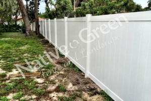 Photo #3: Native Green Fence & Landscape, LLC. - VINYL - BAMBOO - WOOD