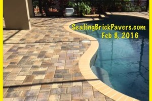 Photo #5: BRICK PAVER SEALING AND CLEANING