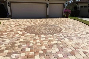 Photo #4: BRICK PAVER SEALING AND CLEANING
