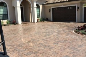 Photo #3: BRICK PAVER SEALING AND CLEANING