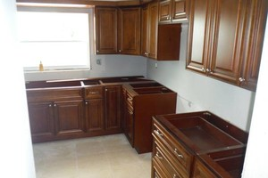 Photo #8: Best price on kitchen cabinets! All wood, all wood!