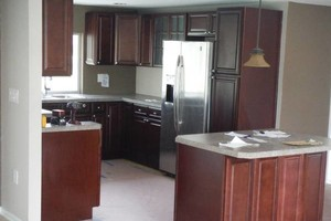 Photo #7: Best price on kitchen cabinets! All wood, all wood!